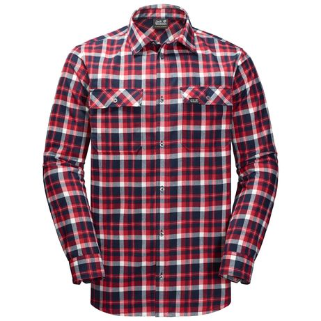 Koszula Bow Valley Shirt Red Blue CHECKS - Nowa