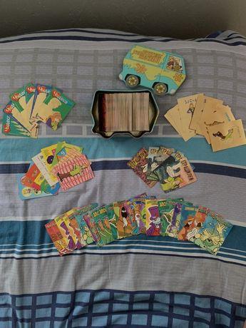 Колекцыоные карточки: Скуби-ду, Черепашки нинзя, человек-паук, бакуган