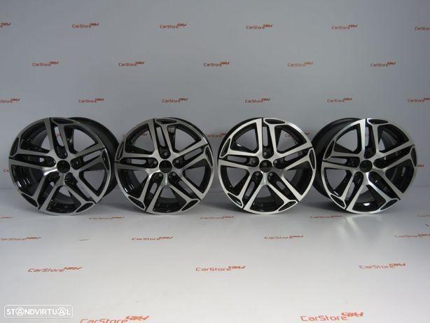 Jantes Peugeot 17 x 7 et 46 5x108 Black