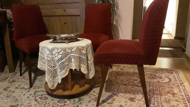Krzesła PRL fotelowe