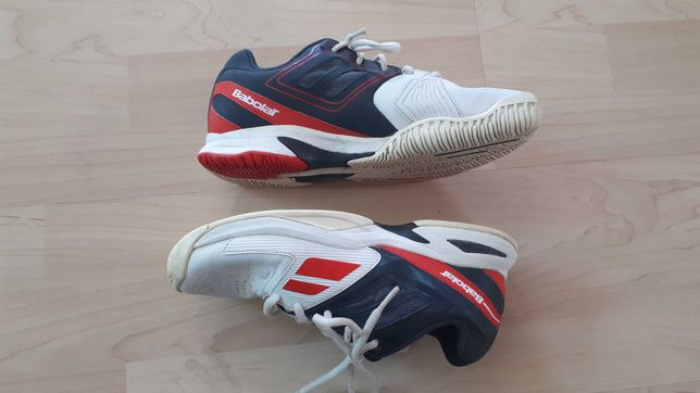 Babolat 39, 25 cm buty tenisowe junior adidasy dla dziecka
