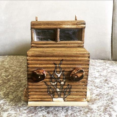 Skarbonka drewniana na zamowienie