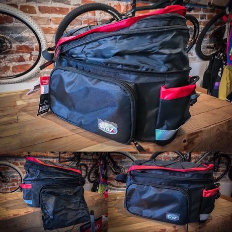 Wielofunkcyjna sakwa na bagażnik Prox, dobra na wyprawy, bikepacking