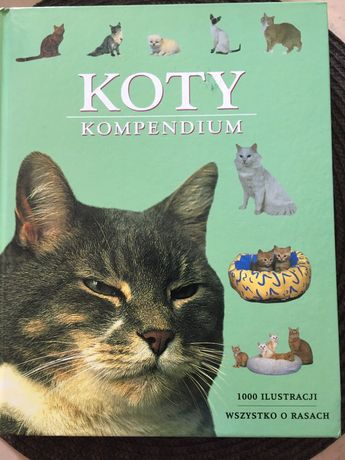 "Książka o kotach ""Koty. Kompedium"""