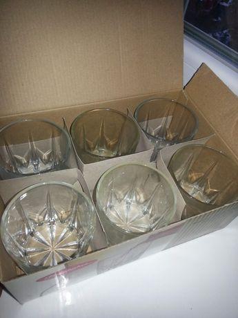 набор коньячных бокалов стаканов, 6 шт