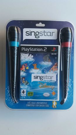 Singstar canções Disney para Playstation 2 intacto