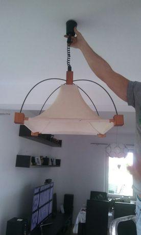 Lampa sufitowa opuszczana