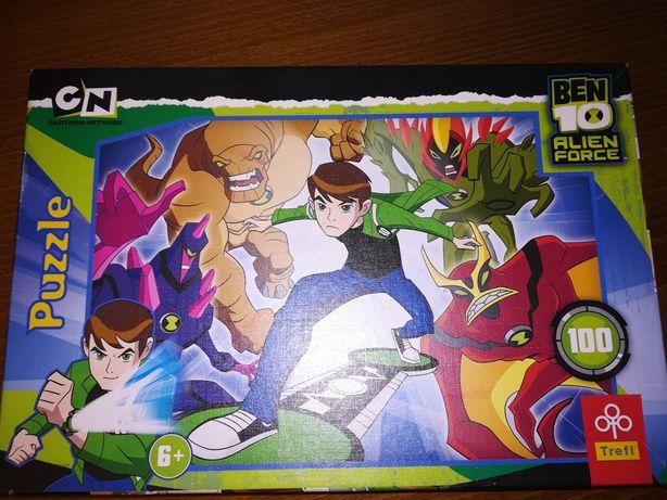 Puzzle Trefl Ben 10 el. 100