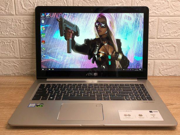 Игровой красавец Asus Vivobook Pro. GTX 1050, Core I7, 4k IPS, Harman