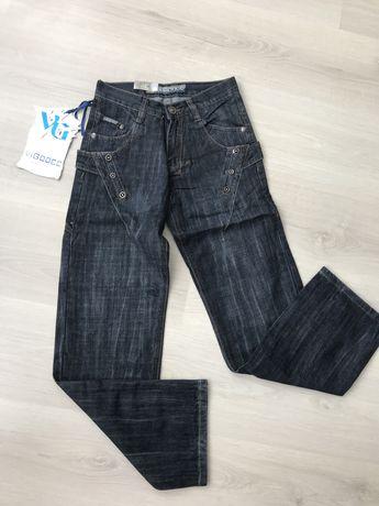 Новые стильные джинсы на мальчика подростка 11-12-13-14лет