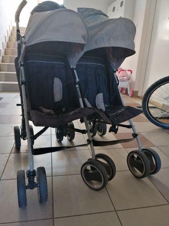 Wózek bliźniaczy Easy Go Spacerówka