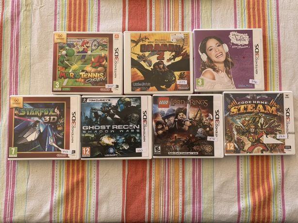 7 jogos Nintendo 3DS e 2DS