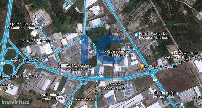Terreno urbano para venda em Águeda