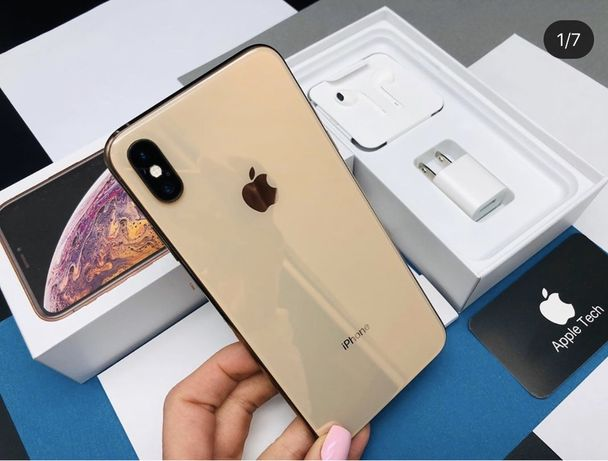 Apple iphone xs max gold 64 gb/ neverlock