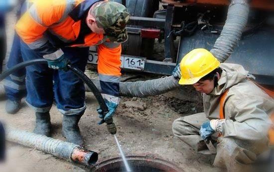 Чистка канализации быстро и недорого