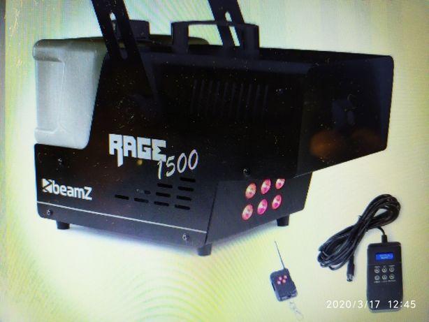 НОВЫЙ Генератор Дыма Beamz RAGE 1500 LED