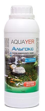 Aquayer Альгокс, 1000 мл - для борьбы с водорослями в пруду Акваер аль