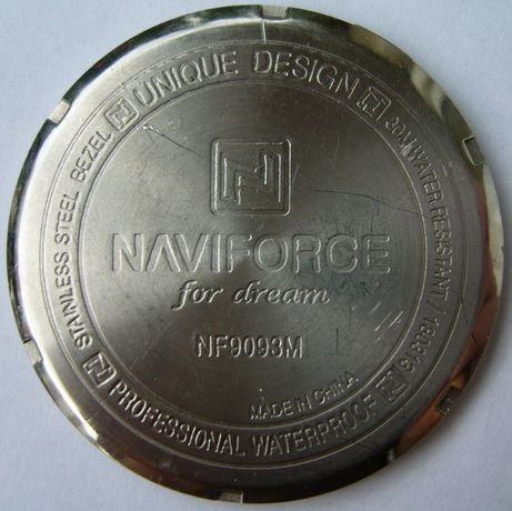 Dekiel zegarka Naviforce NF9093M