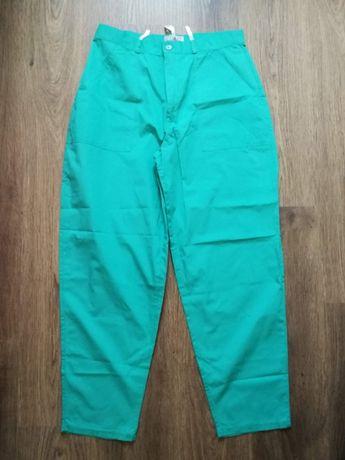 бирюзовые женские брюки