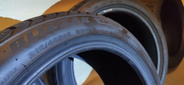 Opony zimowe - Bridgestone Blizzak LM-32 215/45/r18 93V __09.2016r__