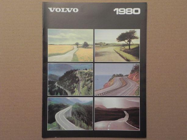 Prospekt - VOLVO - 66 / 340 / 240 / 260 . 1980 r