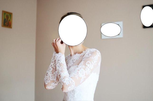 Suknia ślubna - długi rękaw