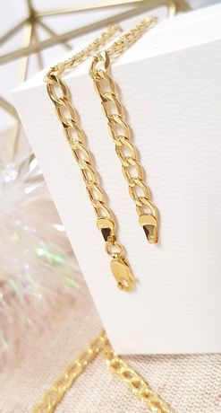 Złoty łańcuszek Pancerka 50cm pr.585