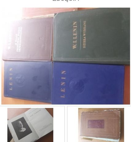 Stare książki W. LENIN, MICKIEWICZ