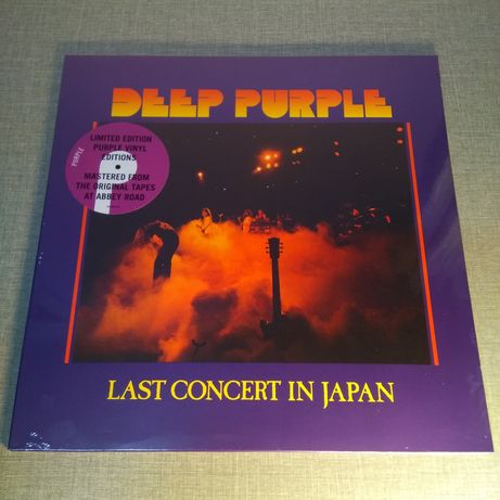 Deep Purple : Last concert in Japan LP / Виниловая пластинка / VL