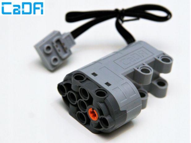 Silnik Serwo 180* do skrętu, CaDA odpowiednik Lego Technic