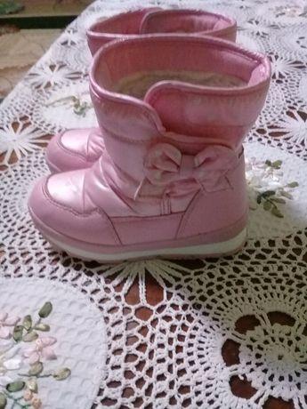 Зимові чобітки сапожки зимние