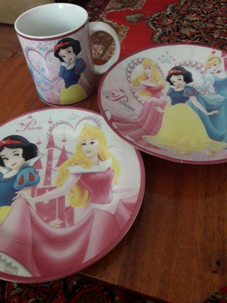 Посуда для девочки