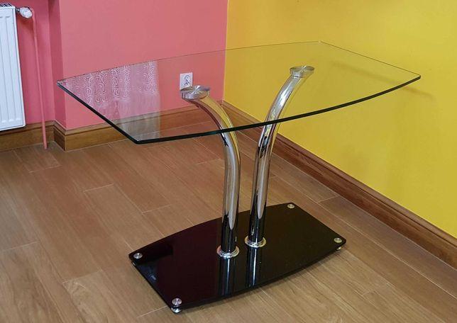 Szklany stolik 120x70 wysokość 75 cm