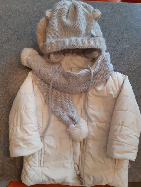 Kurtka zimowa coccodrillo 86/92 dla dziewczynki