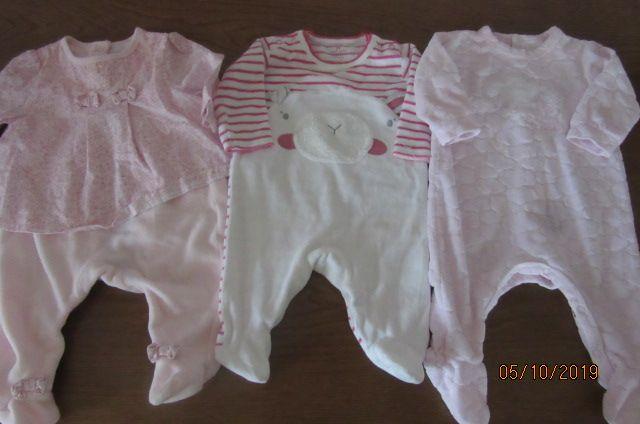 ubranka noworodek zestaw