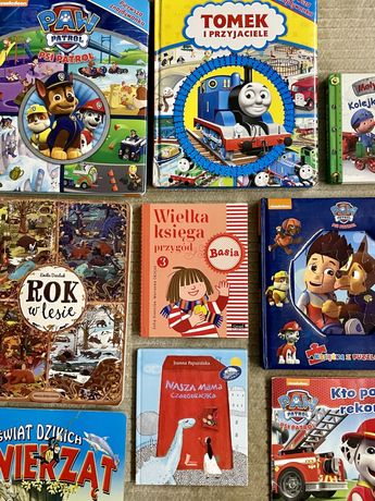 Książki dla dzieci Psi Patrol Basia Tomek i przyjaciele Rok w lesie