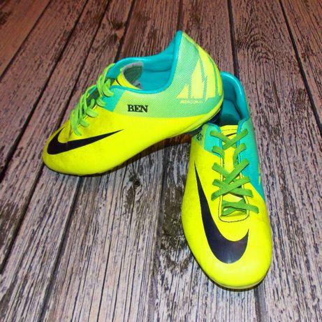 Фирменные бутсы Nike Mercurial для подростка.мужчин размер 39, (24 см)
