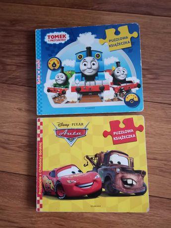 Puzzlowe książeczki Auta i Tomek
