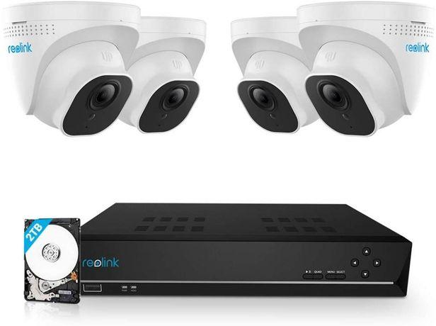 Zestaw do monitoringu 4 kamery + rejestrator