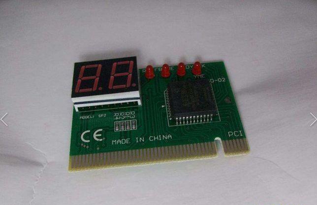 Post card пост карта диагностическая компьютер ноутбук ПК PCI