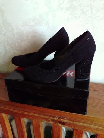 Продам туфли женские, натуральная замша, размер 37