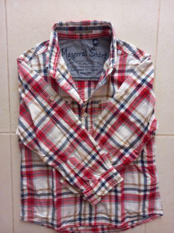 Camisa menino, marca Mayoral, tam. 3 anos.