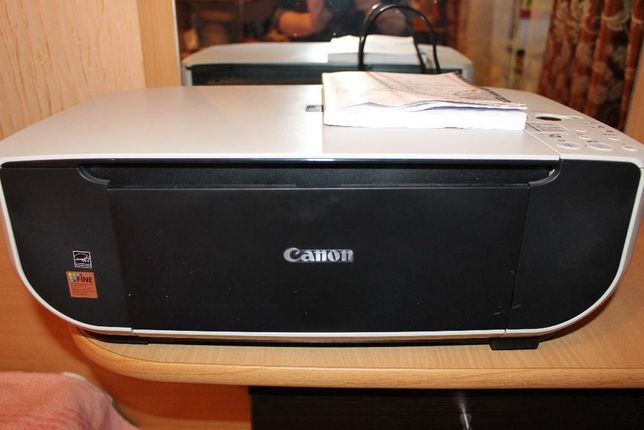 Принтер струйный Canon MP190, б/у, рабочий в хорошем состоянии