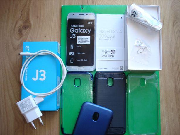 Smartfon SAMSUNG GALAXY J3 Blue silver