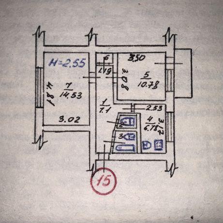 Продам двухкомантную квартиру 44кв.м (р-н Комаровка)