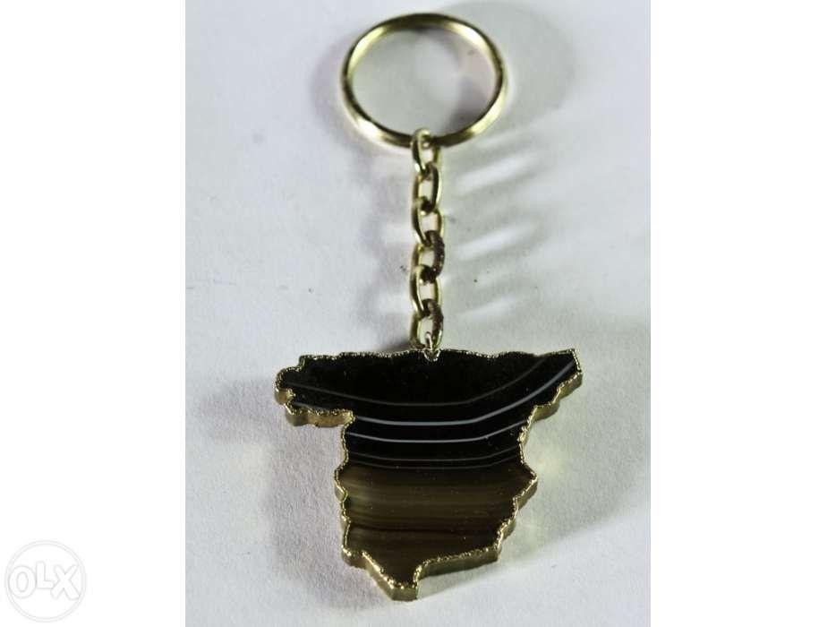 Porta chaves em ágata Ponte da Barca - imagem 1