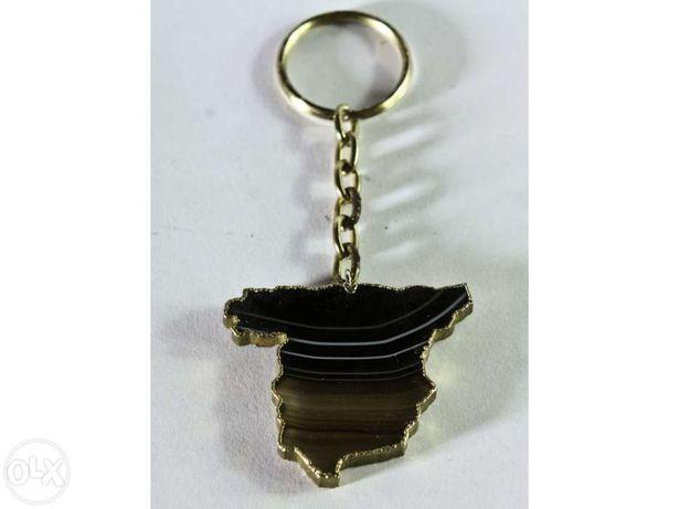 Porta chaves em ágata