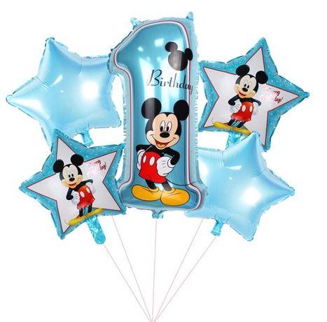 Balony Myszka Mickey Roczek