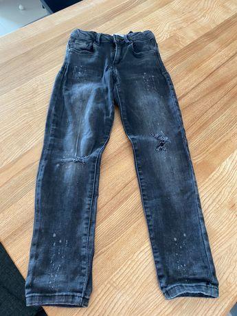 ZARA jeansy dla dziewczynki rozm.122