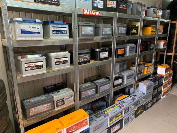 Аккумуляторы АКБ на любые авто 60ah70ah75ah100ah,доставка бесплатная
